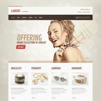 bootstrap templates for jewellery premium jewelry wordpress themes templatemonster