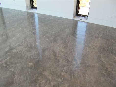 How To Finish Cement Floor by Burnishing A Concrete Floor Meze