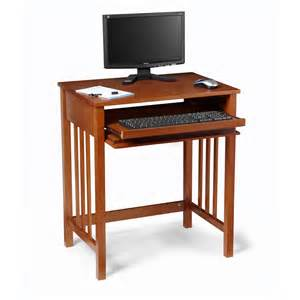Mission Oak Computer Desk Convenience Concepts Designs2go Oak Mission Desk Desks At Hayneedle