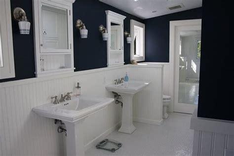 royal blue and white bathroom navy bathroom houzz