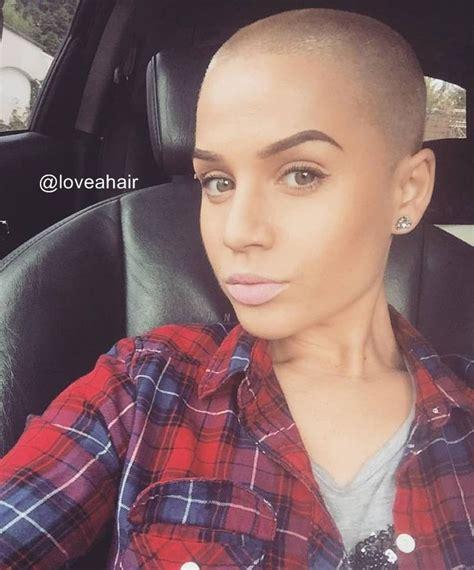 ladies headshaving 274 best bald beautiful women images on pinterest