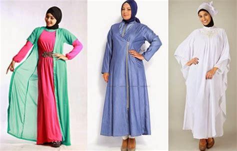 tutorial berhijab untuk orang gemuk 7 gambar model baju hijab modis trendy untuk orang gemuk