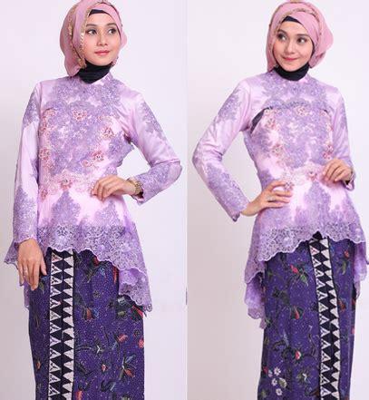 kebaya muslim modern terbaru  ragam fashion
