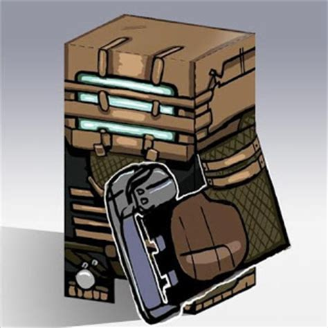 Dead Space Papercraft - isaac clarke dead space paper