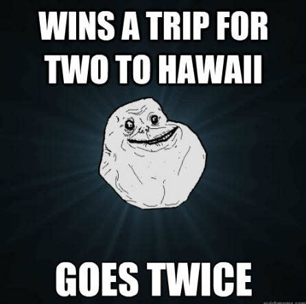 Alone Memes - image forever alone meme hawaii jpg the adventure time