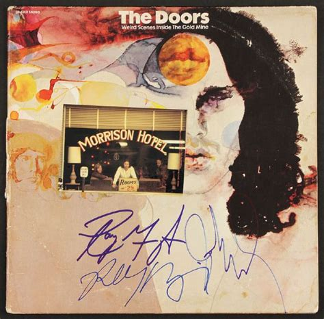 The Doors Inside The Gold Mine lot detail the doors signed quot inside the gold mine quot album
