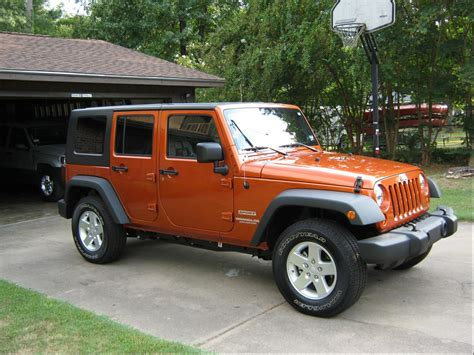 jeep wrangler 4 door orange orange 4 door jeep wrangler autos post