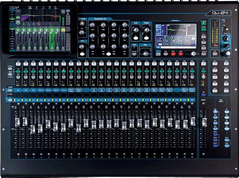 Table De Mixage Enregistreur by Allen Heath Qu 24 La Boite Du Musicien