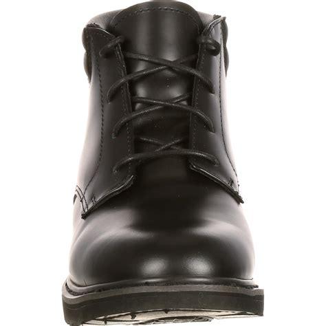 Dres Chika Black polishable dress leather chukka boots rocky fq00501 8