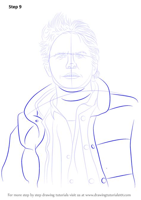 how to draw doodle characters step by step learn how to draw marty mcfly characters step by step