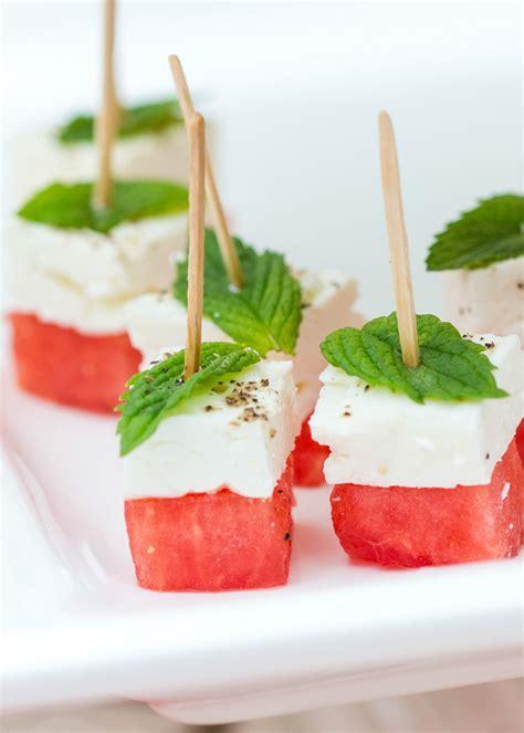 appetizers healthy watermelon feta skewers healthy appetizers for summer