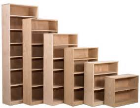 unfinished wood bookshelves hoot judkins furniture san francisco san jose bay area