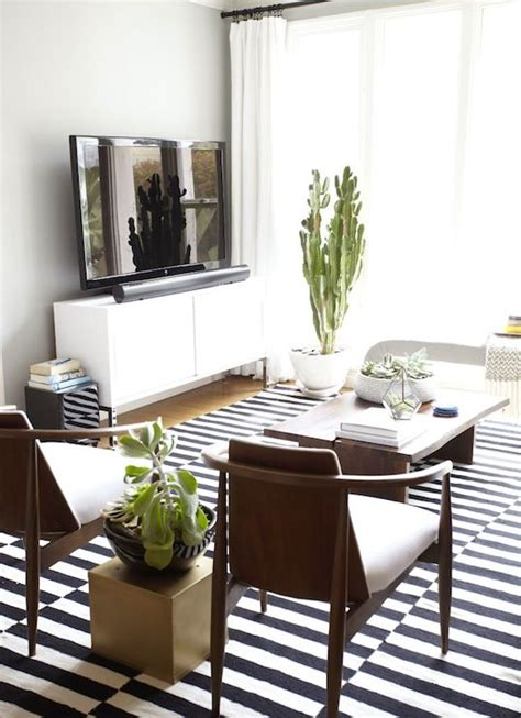 ikea modern living room 26 ways to use ikea stockholm rug for home decor digsdigs