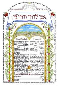 ketubah template god s divorce and remarriage and the restoration of israel