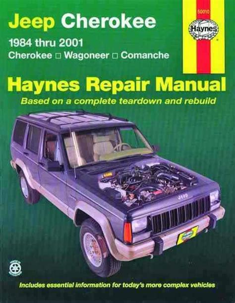 service manual how to install 1992 jeep comanche springs rear jcroffroad now offers a rear jeep cherokee wagoneer comanche 1984 2001 haynes owners service repair manual 1563925400