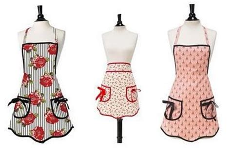 jessica steele head apron aprons and oven mitts cheap cookie cutters
