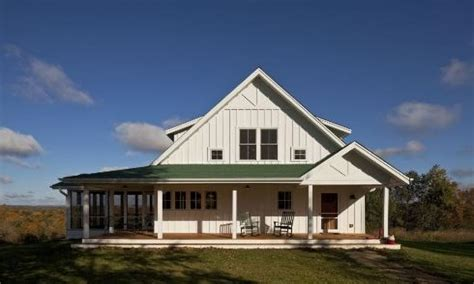 one story farmhouse plans wrap around porch house style no