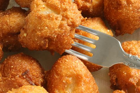 recipe for hush puppies with cornmeal southern appetizer recipe hush puppies just a pinch recipes