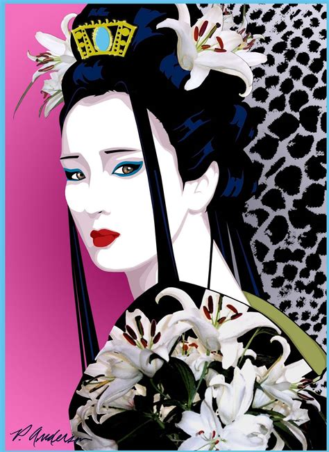 imagenes de geishas japonesas animadas geishas arte gotico