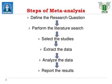 how to write a meta analysis research paper meta analysis techniques in epidemiology