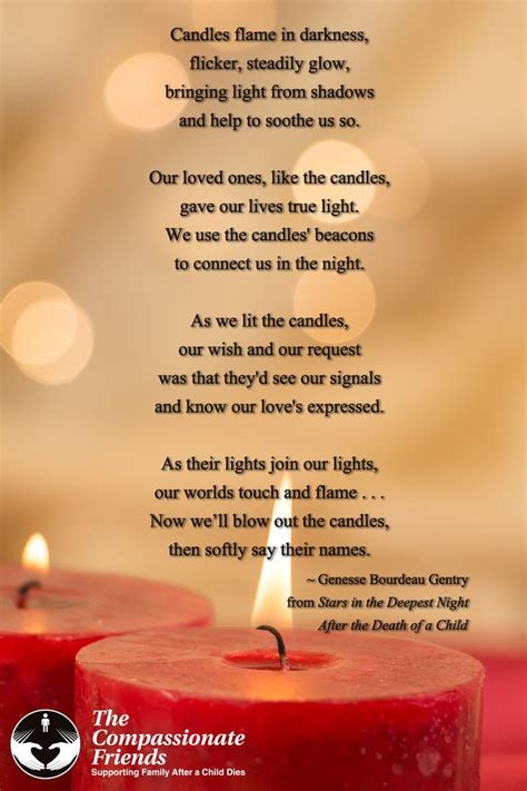 the compassionate friends candle lighting worldwide candle lighting the compassionate friends