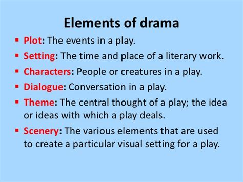 theme definition in drama introduction to drama