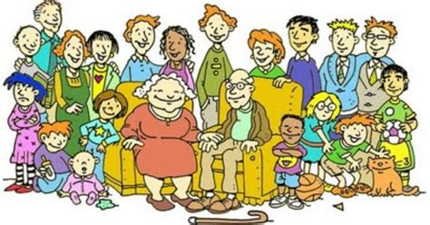 Extended Family Clipart Free   ClipartXtras