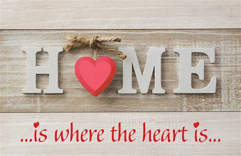 home is where the heart is home is where the heart is unique litho