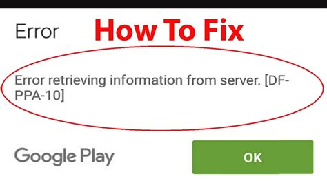 Play Store Error Retrieving Information From Server Find The Best In Mobile Applications Fortuneserve