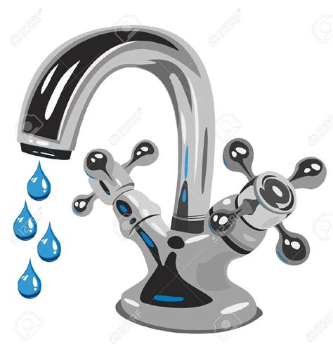 kitchen faucet dripping water dripping tap clipart 50