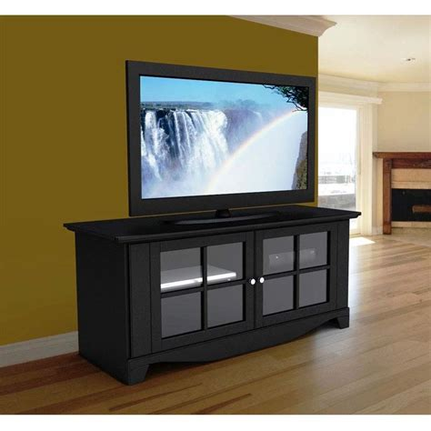 Tv Stands With Glass Doors by Nexera Series 60 Flat Panel Tv Stand With Glass