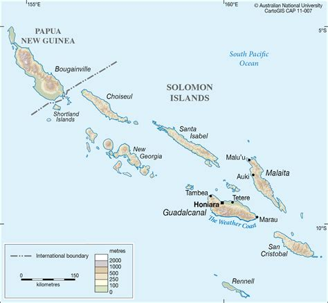 map islands solomon islands cartogis services maps anu