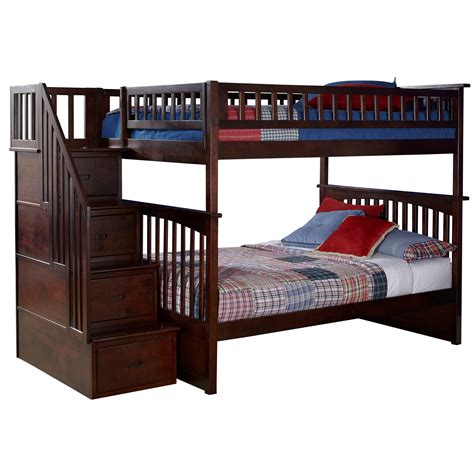 How Much Does A Bunk Bed Cost Discount Bunk Beds With Trundle Amazoncom Cascade Staircase Bunkbed With Drawers F