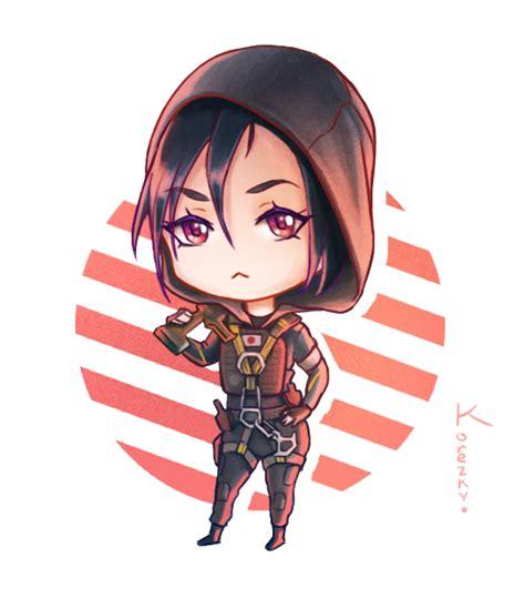 X Anime Siege by Chibi Hibana By Korezky Rainbow 6 Siege