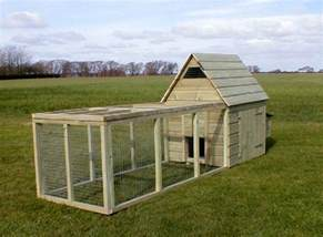 Hutch Trailer Chicken Coops Runs Houses And Arks