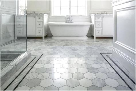tiling bathroom floor 20 best option bathroom flooring for your home ward log homes