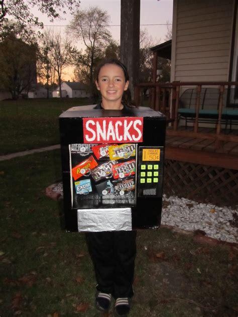 snack machine halloween costume