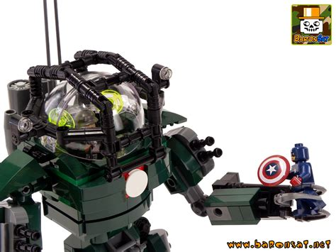 creations personnelles custom lego marvel hydra