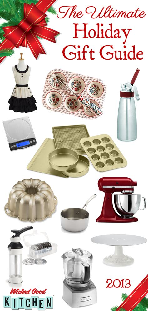 ultimate holiday gift guide for bakers cooks wicked