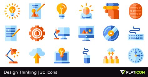 design thinking icon design thinking 30 free icons svg eps psd png files