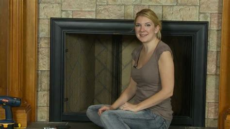 How To Install A Fireplace Door by Fireplace Door How To Install