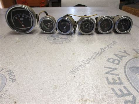 boat dash gauges boat dash gauge set speedometer tach oil volt temp