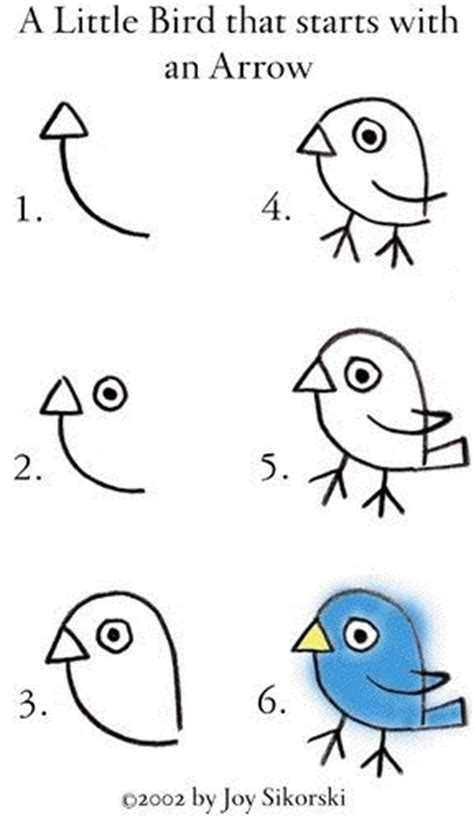 drawing birds learn to kids farah zulkifly