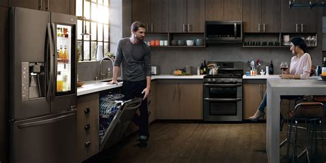 Jaga Jazzist A Livingroom Hush 100 dark kitchen cabinets with black appliances