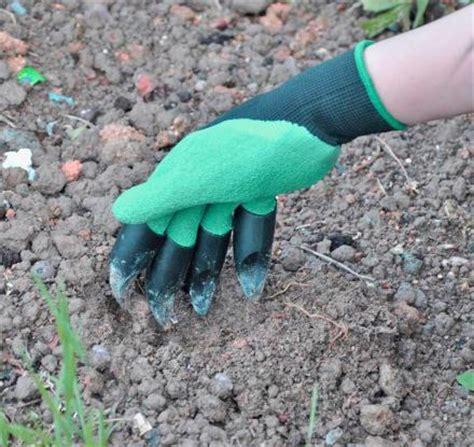 Genie Garden Gloves garden genie gloves built in claws for digging