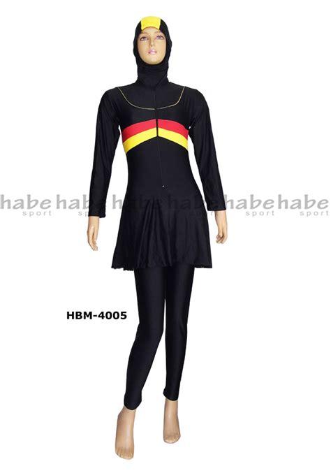Baju Renang Wanita Dewasa Muslimmuslimah Polos baju renang muslimah dewasa hbm 4005 distributor dan