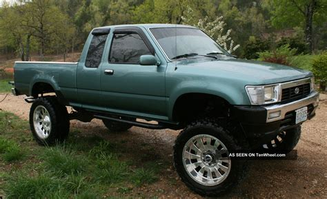 Toyota Up Truck 1990 Toyota Sr5 Extended Cab 2 Door 3 0l