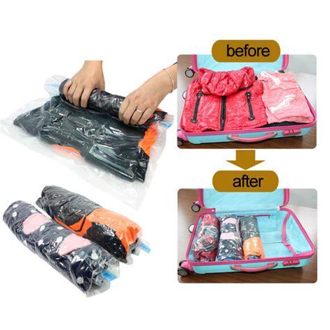 Promo Vacuum Bag Compression Bag Kantong Kompres Free Pompa 4x4 Termur wholesale vacuum compression bags traveling pouch