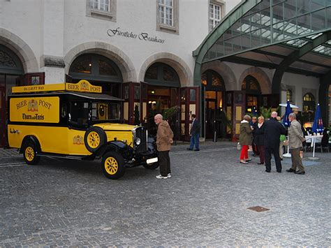 Auto Thurn by Regensburg Bier Post Auto Thurn Und Taxis