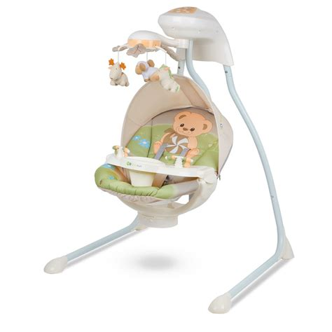 baby swing with tray kinderkraft teddy bear baby bouncing chair swing seat